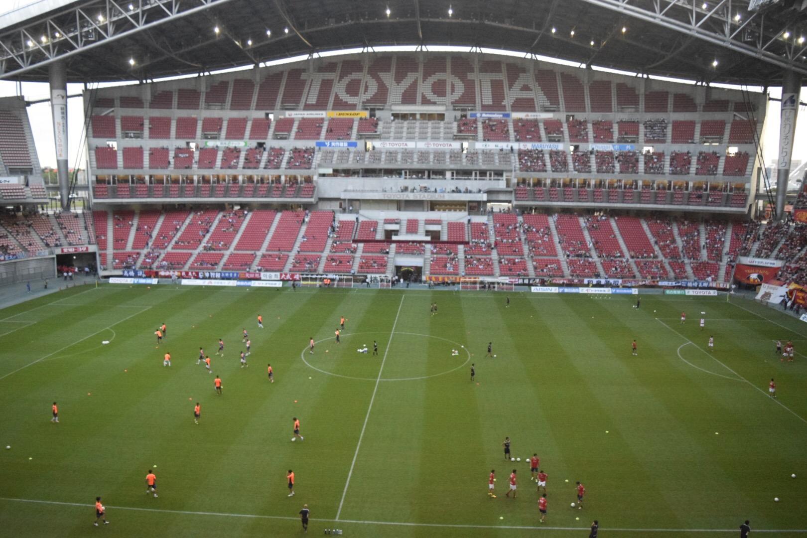 豊田スタジアムの風景